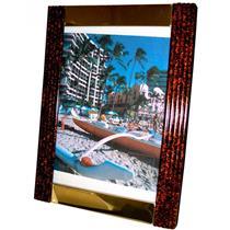 Porta Retrato 13 X 18 Cm Moldura Metal 1326 Lavie