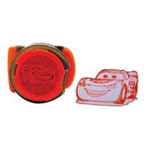 Caixa Com 12 Carimbos E Adesivos Cars 0621255 Bip