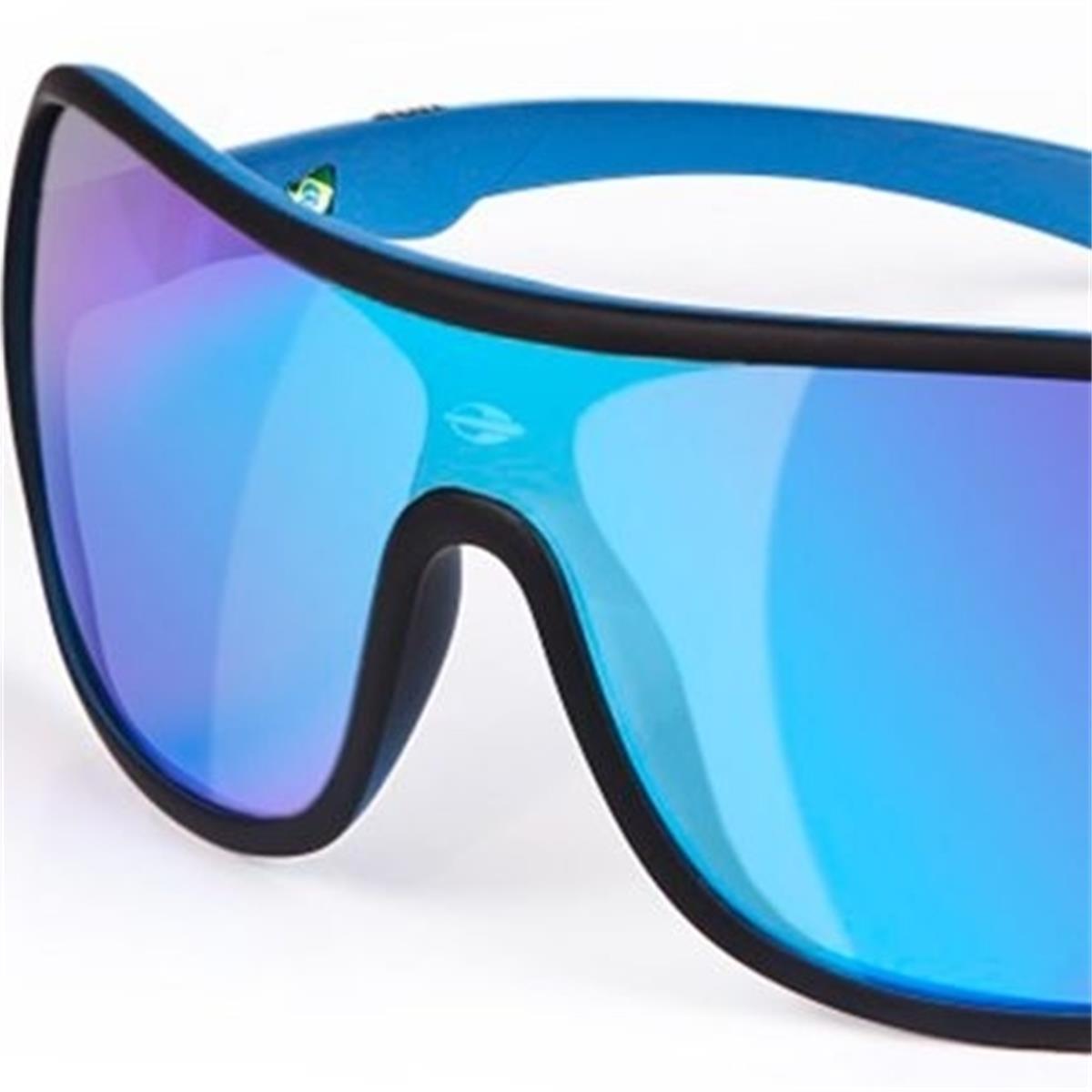 Óculos de Sol Preto e Azul Fosco Speranto Mormaii cc72f0cbf7