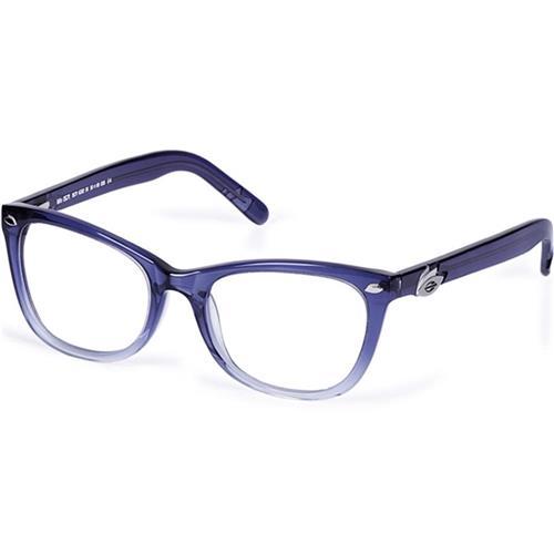 72c990591742e Armação de Óculos Azul Degradê e Branco Mormaii