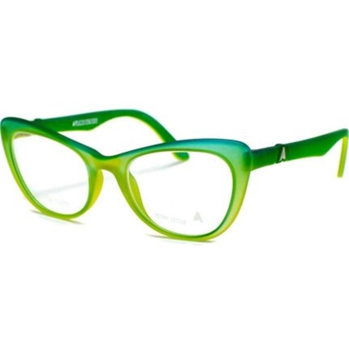 dbf7764070128 Armação Óculos de Grau Azul e Amarelo Retrô Retiro Absurda