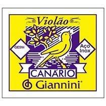 Encord Violao Aco Com Chenilha Canario Gesw Giannini
