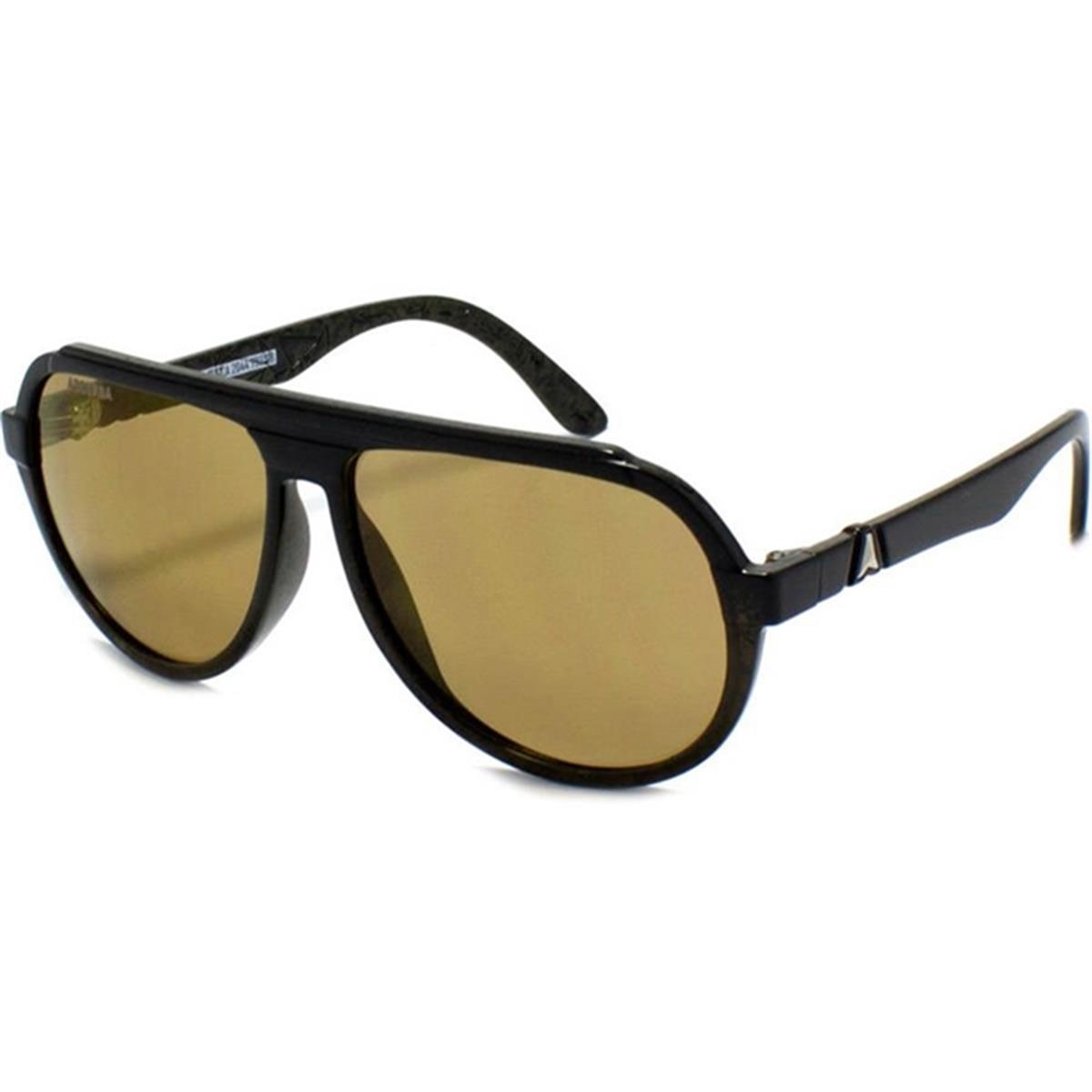 c2d2e7278 Óculos de Sol com Lente Dourada Retrô La Rocca Absurda
