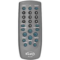 Controle Remoto Cyber Para Tv Cce Crk-01 Kuati