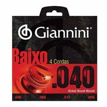Encordoamento Para Baixo Elétrico 4 Cordas Geebrl Giannini