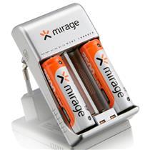 Carregador De Pilhas 2X Aa/Aaa Mirage Bivolt Rm01 Multilaser