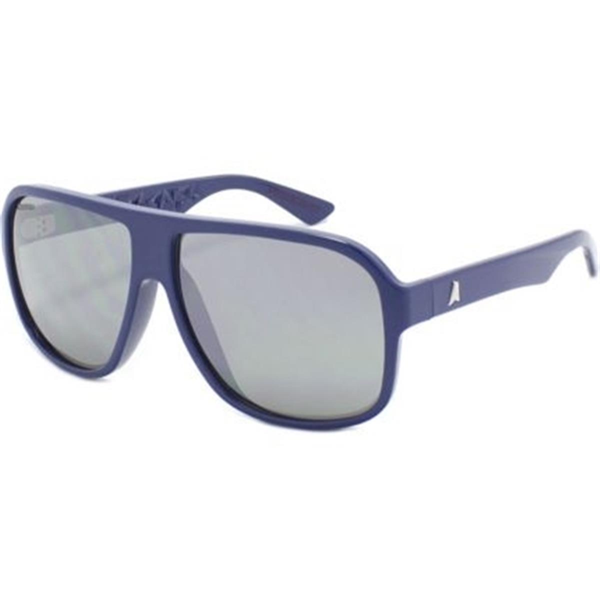 5bbef5209 Óculos de Sol Azul Escuro Lente Cinza Espelhada CALIXTO Absurda