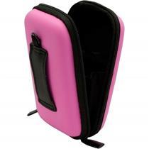Estojo Rígido Para Câmera Digital Compacta Pink V31 Vivitar