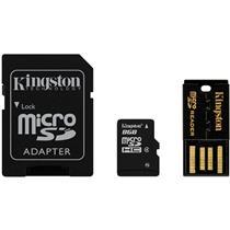 Cartão De Memória Classe 4 8Gb Multikit Adaptador Usb Kingston