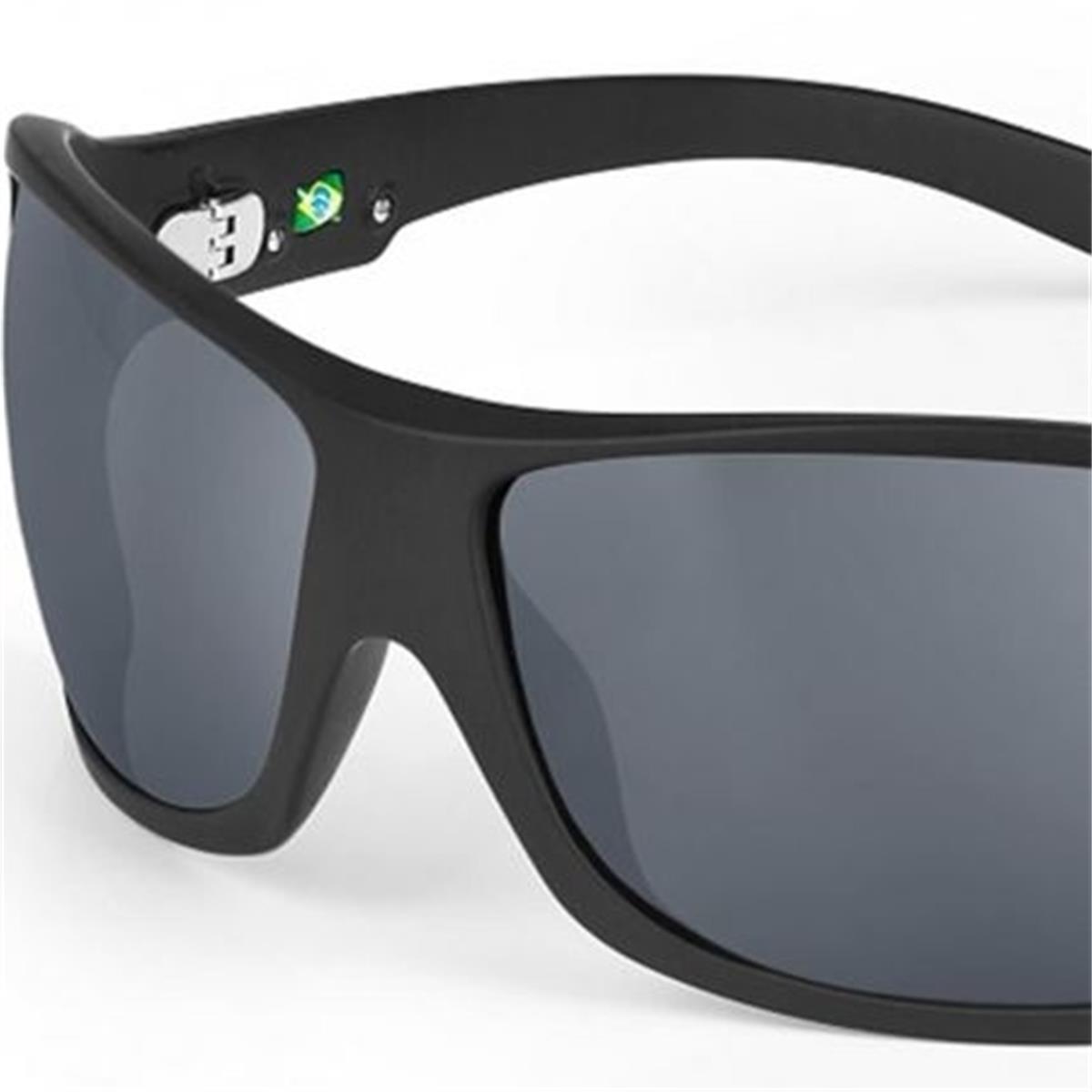 7dc595b37c7a9 Óculos de Sol Polarizado Preto Fosco GALAPAGOS Mormaii