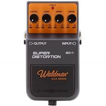 Pedal Para Guitarra Super Distortion 9V Sd-1 Waldman