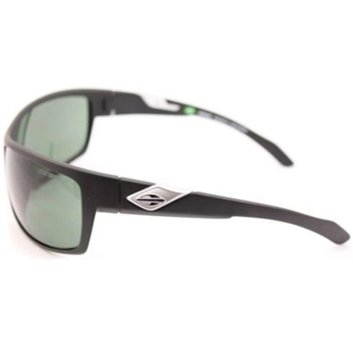 a42b7d2da Óculos de Sol Preto Fosco Lente Verde JOACA Mormaii