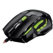 Mouse Laser Gamer Usb Preto Até 2400 Dpi Mo208 Multilaser