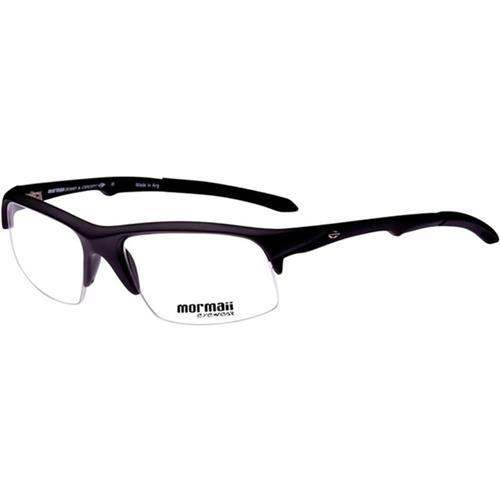 cd8eb66cc Armação Óculos de Grau Unissex Preto ITAPUA4 Mormaii