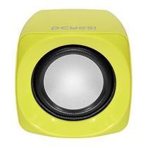 Caixa De Som Usb Portátil Cross 6w Amarelo 21889 Pcyes
