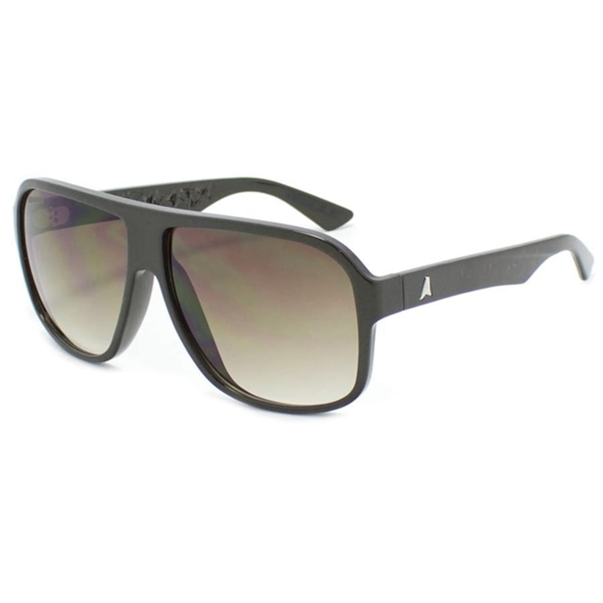 Óculos de Sol Marrom Pérola com Lente Marrom Degradê Calixto Absurda 57374faddc