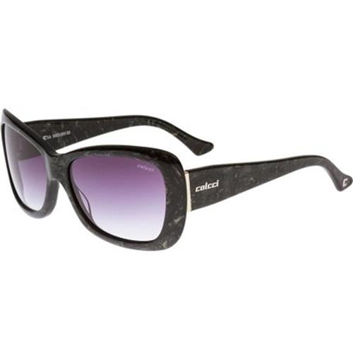 b6cf2bf9f Óculos de Sol Preto Marmorizado Feminino 5002 Colcci