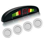 Sensor Estacionamento Automático 4 Sensores Ps-1001 C3 Tech