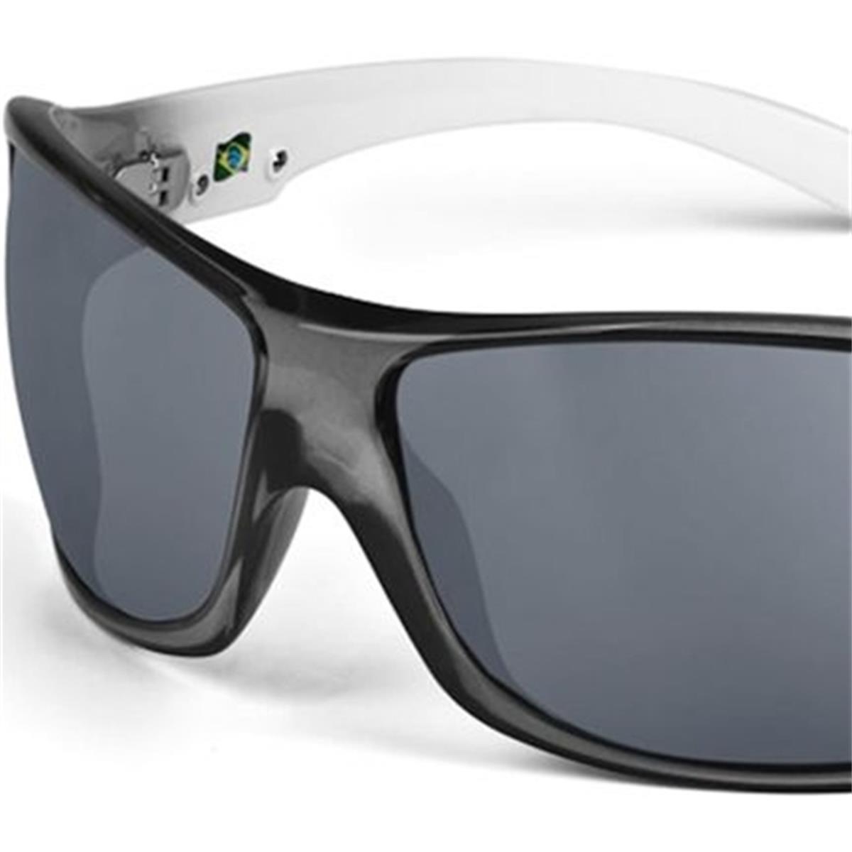 bc26a79555fee Óculos de Sol Fume e Branco GALAPAGOS Mormaii