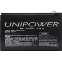 Bateria Estacionária Selada 12v 7a Up1270seg Unipower