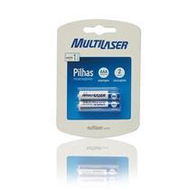 Pilhas Recarregáveis Aaa Blister Com 2 Und Cb051 Multilaser