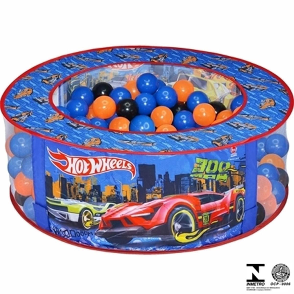 Piscina de Bolinhas Hot Wheels 2104 Lider Brinquedos 8b07120430bb4