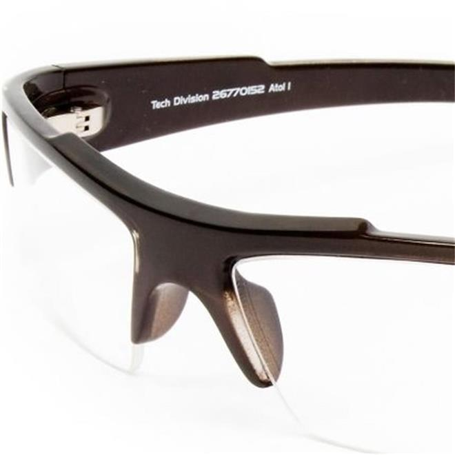 e6b562fa39d54 Armação de Óculos de Grau Esportivo Marrom ATOL1 Mormaii