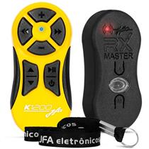 Controle De Longa Distância 1200M Amarelo K1200 Jfa