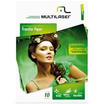Papel Transfer Para Tecido A4 Pe020 Multilaser