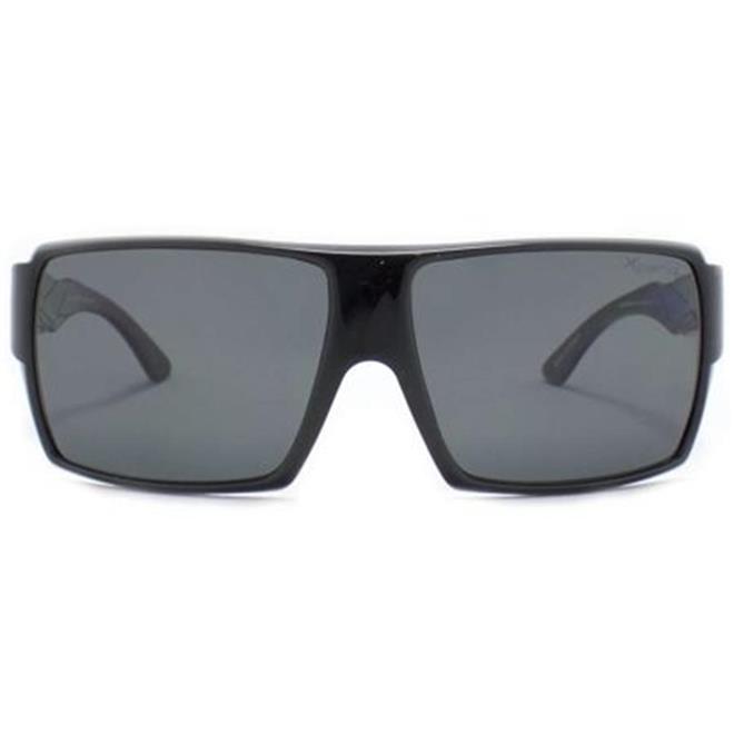 4a76f129c461a Óculos de Sol Preto Brilhante ARUBA Xperio Mormaii