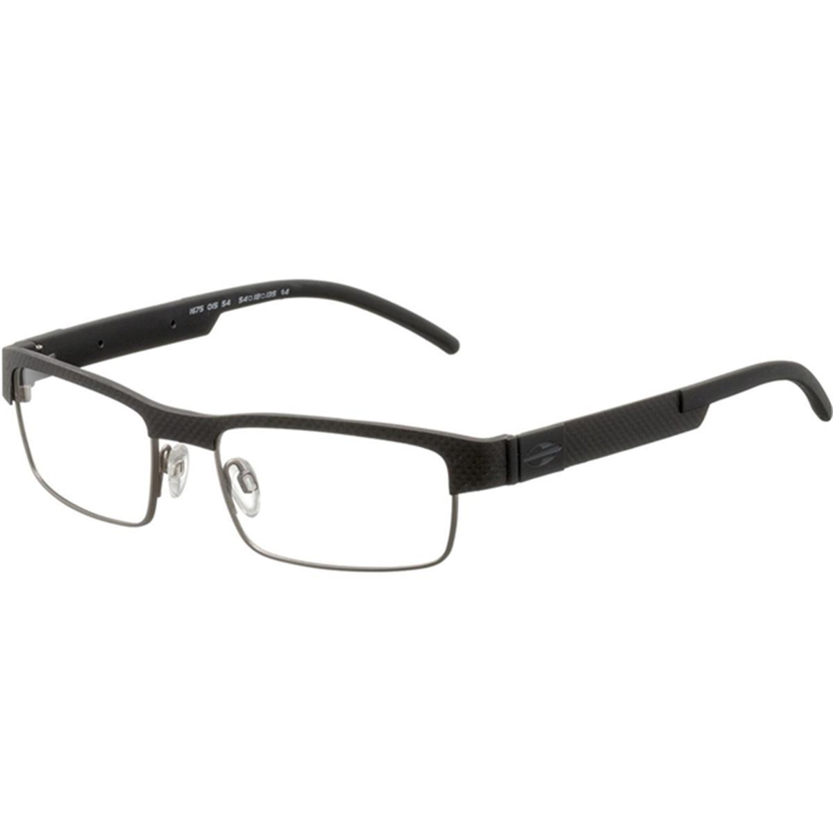 Armação para Óculos Preto Titanium MO1675 Mormaii 732d8b5fbc