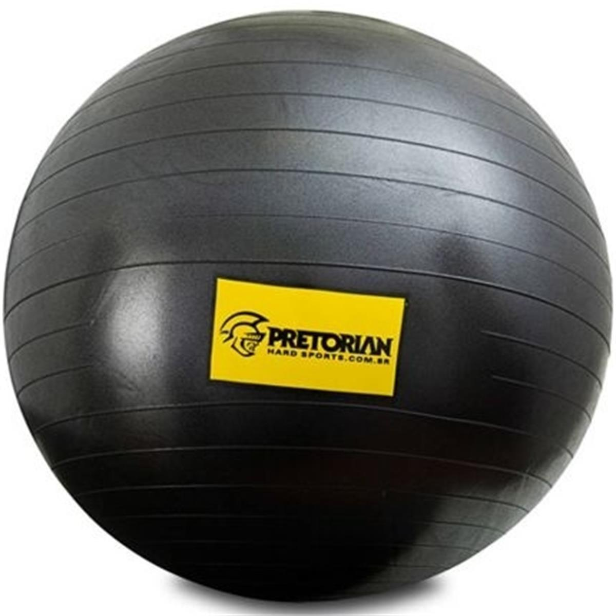 90267f44a4 Bola Fit Ball Anti Estouro 65 cm p  Ginástica Preto FB-65-AE Pretorian