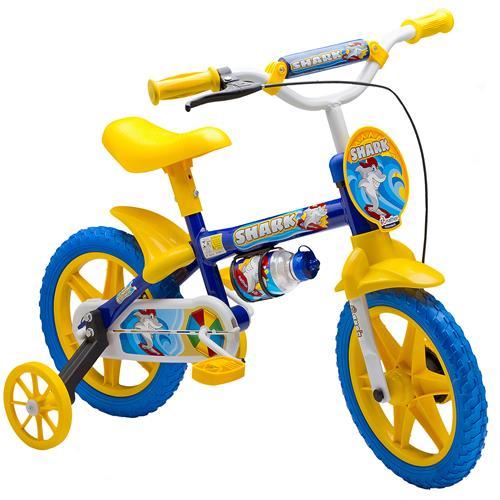 232275a9a Bicicleta Infantil Masculina Aro 12 Fireman Shark Nathor na Estrela10