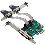 Placa Pci Express 2 Serial + 1 Paralela Ga128 Multilaser