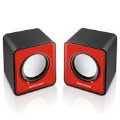 Caixas De Som 2.0 Portátil 3w Rms Vermelho Sp197 Multilaser