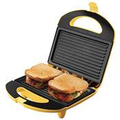Sanduicheira Mini Grill Easy Meal Amarelo San234 Cadence