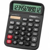 Calculadora De Mesa 836B-12 12 Digitos Bateria Solar Truly