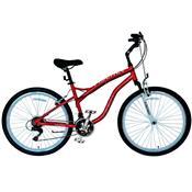 Bicicleta Grand Tour Aro 26 Unissex 23180 Fischer Vermelho