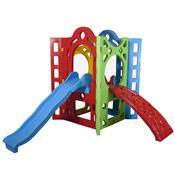 Playground Fortaleza E Escorregador Alpha Brinquedos